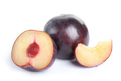 Plum fruit royalty free stock images