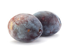 Plum fruit closeup Royalty Free Stock Image