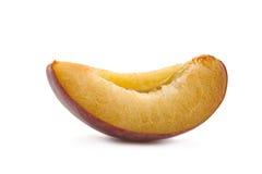 Plum fruit slice Stock Photography