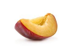 Plum fruit slice Royalty Free Stock Photography