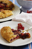 Plum galette Royalty Free Stock Photo
