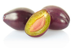 Plum group Royalty Free Stock Photography