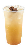 plum ices tea Stock Photo