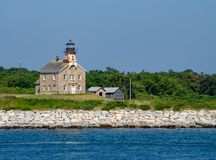 Plum Island Lighthouse stockbild