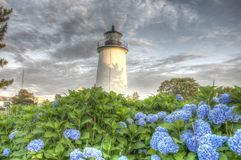 Plum Island Lighthouse Photographie stock