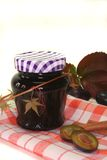 Plum jam Stock Photo