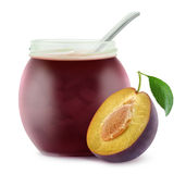 Plum jam Royalty Free Stock Photos