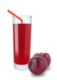 Plum Juice Stock Photos