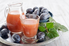 Plum Juice Images stock