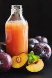 Plum juice Stock Image