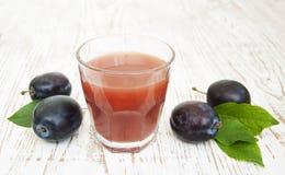 Plum juice Royalty Free Stock Photos