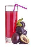 Plum juice Royalty Free Stock Photography