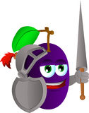 Plum knight Stock Photos