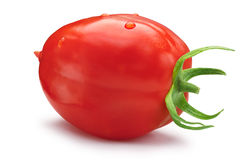 Plum-like tomato, clipping paths Stock Photography
