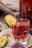 Plum Liqueur Royalty Free Stock Images