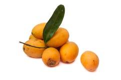 Plum Mango Imagenes de archivo