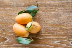 Plum mango, or Marian plum Royalty Free Stock Photo