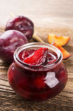 Plum Marmelade Royalty Free Stock Photography