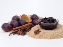 Free Plum-mash Ingredients Stock Photo - 10810520
