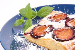 Plum Pie Royalty Free Stock Photos