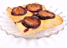 Plum Pie Stock Images