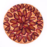 Plum Pie Royalty Free Stock Photography