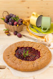 Plum Pie Images stock
