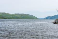 Plum Point State Park Overlooking Hudson River en Ne hors de la ville photographie stock