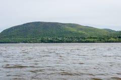 Plum Point State Park Overlooking Hudson River en Ne hors de la ville images libres de droits