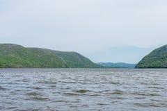 Plum Point State Park Overlooking Hudson River en Ne hors de la ville photographie stock libre de droits