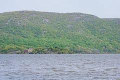 Plum Point State Park Overlooking Hudson River en Ne hors de la ville image stock