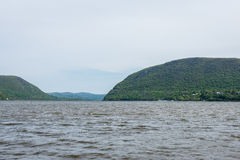 Plum Point State Park Overlooking Hudson River en Ne hors de la ville images stock