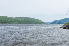 Plum Point State Park Overlooking Hudson River in Upstate Ne royalty-vrije stock foto