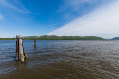 Plum Point State Park Overlooking Hudson River in Upstate Ne stock fotografie