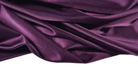 Plum satin Royalty Free Stock Photography
