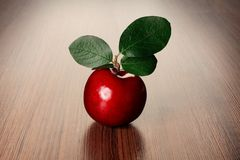 Plum on a table Stock Image