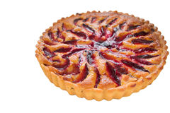 Plum tart Royalty Free Stock Images