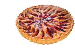 Plum tart Royalty Free Stock Images