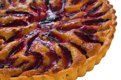 Plum tart Royalty Free Stock Image