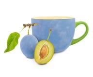 Plum tea Royalty Free Stock Photo