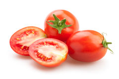 Plum tomatoes Stock Photo