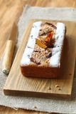Plum Walnut Cake Stock Foto's