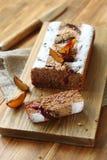 Plum Walnut Cake Royalty-vrije Stock Afbeelding