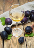 Plum wine Royalty Free Stock Images