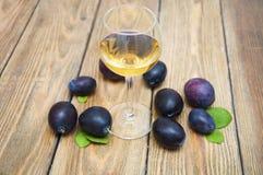 Plum wine Royalty Free Stock Photography