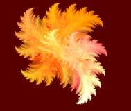 Pluma abstracta del fractal Imagenes de archivo