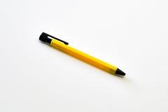 Pluma amarilla Imagen de archivo libre de regalías