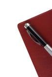 Pluma con el cuaderno imagenes de archivo