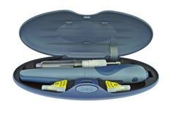 Pluma de la insulina foto de archivo libre de regalías