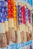 Pluma del cepillo del chino Imagen de archivo libre de regalías